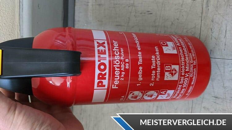 Protex Feuerlöscher 2kg Test