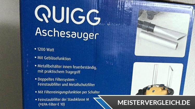 QUIGG Aschesauger Unboxing