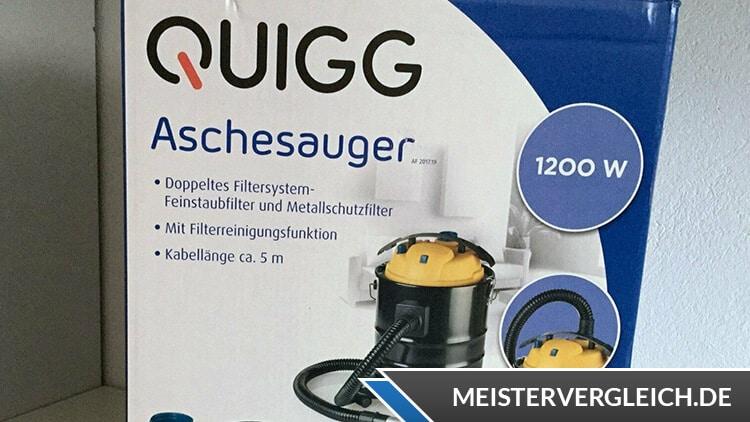 QUIGG Aschesauger Verpackung