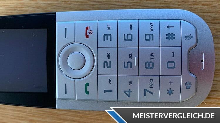 Schnurloses Telefon mit SIM-Karte Tastatur