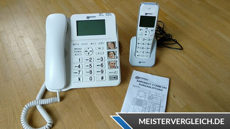 Seniorentelefon mit Anrufbeantworter
