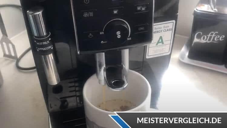 DeLonghi Kaffeevollautomat ECAM13.123.B Anwendung