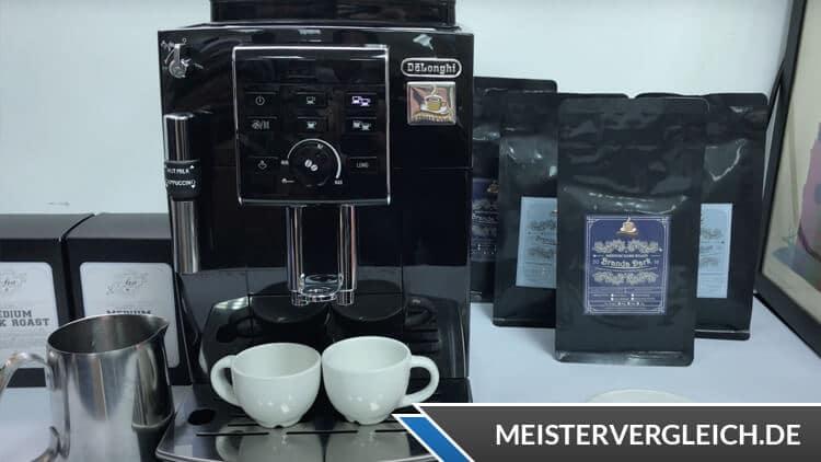 DeLonghi Kaffeevollautomat ECAM13.123.B Test
