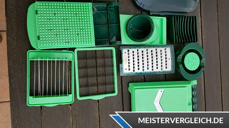 Genius Nicer Dicer Chef Lieferumfang