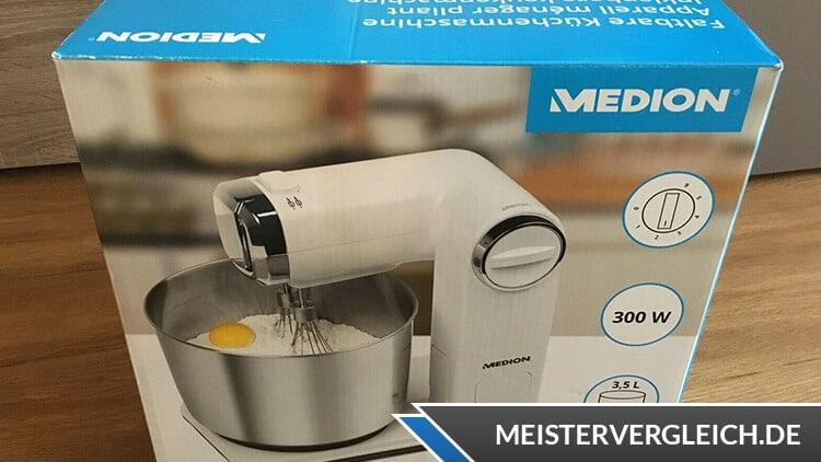 MEDION Küchenmaschine zum Kneten und Rühren