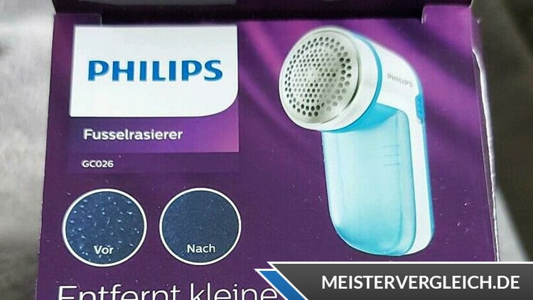 Philips GC026-00 Fusselrasierer Unboxing