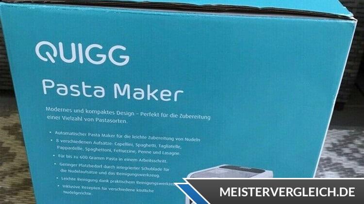 QUIGG Pasta Maker Lieferumfang