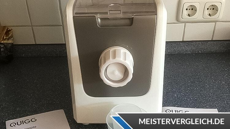 QUIGG Pasta Maker Test