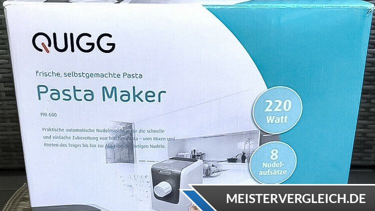 QUIGG Pasta Maker Verpackung