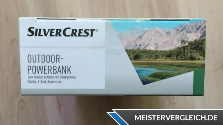 SILVERCREST Powerbank Verpackung