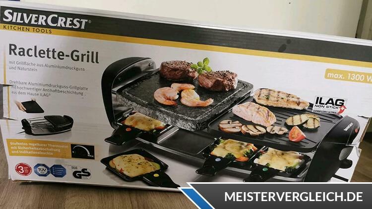 SILVERCREST Raclette-Grill Unboxing