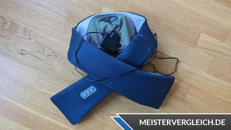 SILVERCREST Shiatsu Nackenmassagegerät blau