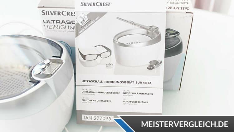 SILVERCREST Ultraschall-Reinigungsgerät Bedienungsanleitung