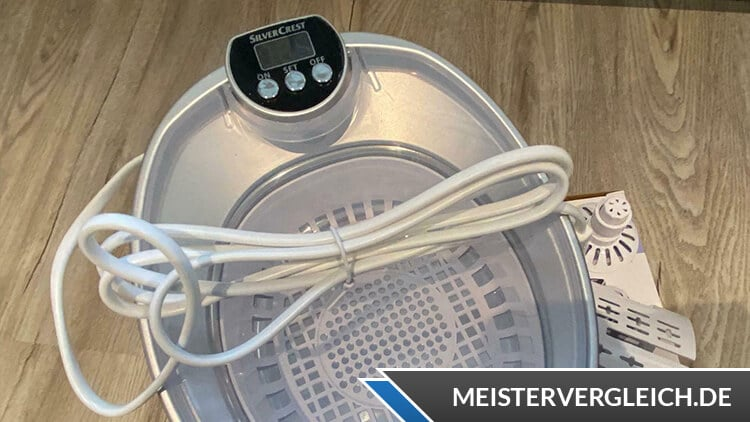 SILVERCREST Ultraschall-Reinigungsgerät Kabellänge