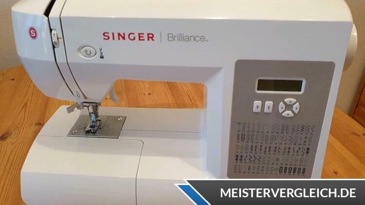 SINGER Nähmaschine Brilliance Bedienung