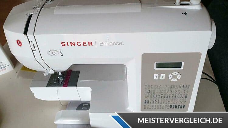 SINGER Nähmaschine Brilliance Funktion