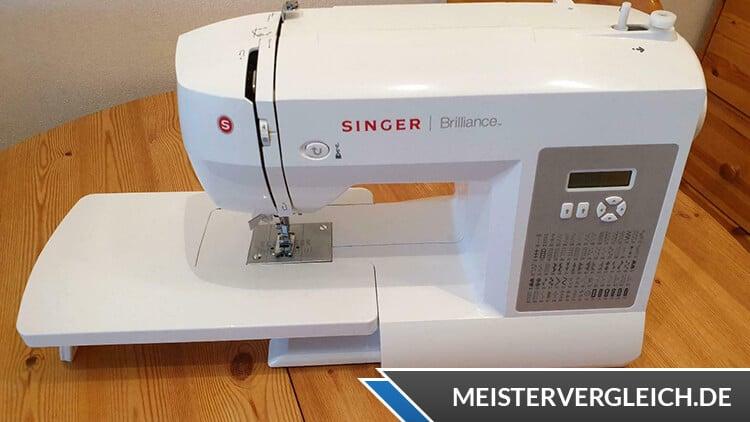 SINGER Nähmaschine Brilliance Praxistest