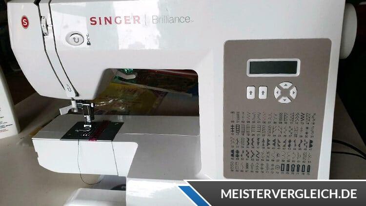 SINGER Nähmaschine Brilliance Test