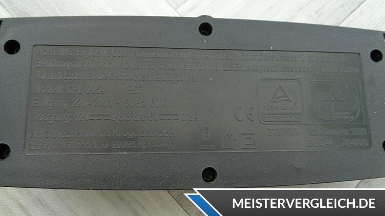 AUTO XS Batterieladegerät Datenblatt