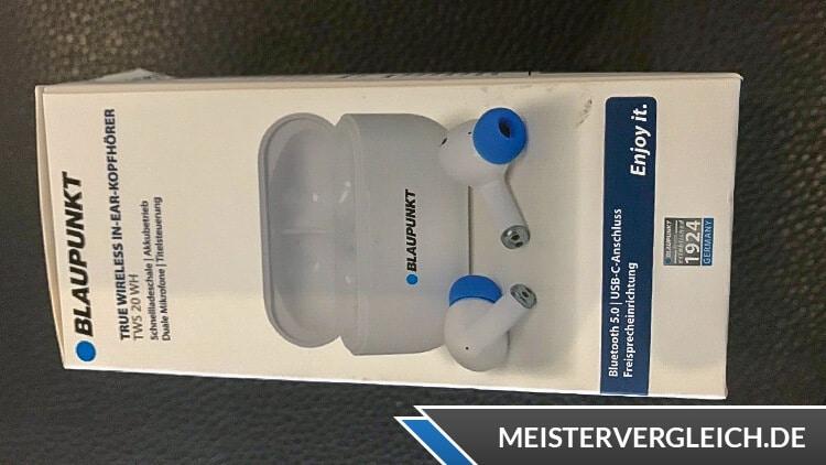 Blaupunkt True Wireless In-Ear-Kopfhörer TWS 20 Lieferumfang