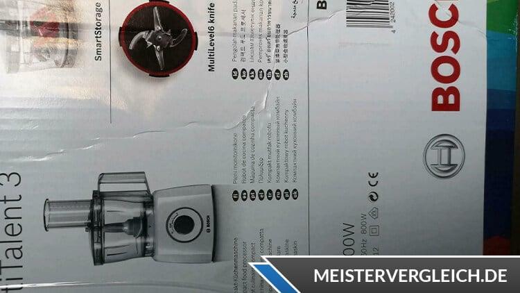 BOSCH MCM3200W Küchenmaschine Anwendung