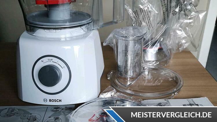 BOSCH MCM3200W Küchenmaschine Test