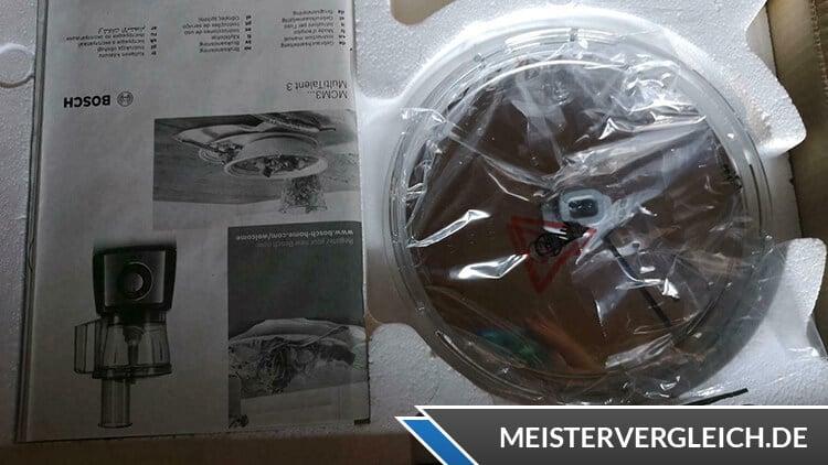 BOSCH MCM3200W Küchenmaschine Unboxing