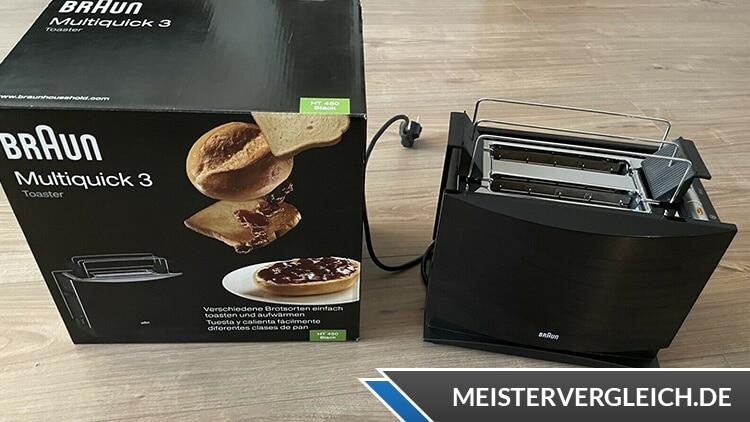 BRAUN Multiquick 3 HT 450 Toaster Test