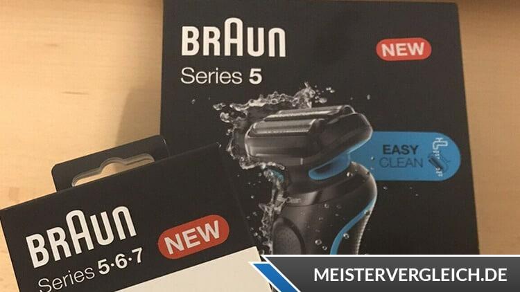 BRAUN Series 5-50-W1000s Trockenrasierer Zubehör