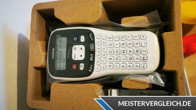 Brother Beschriftungsgerät P-touch H105 Unboxing