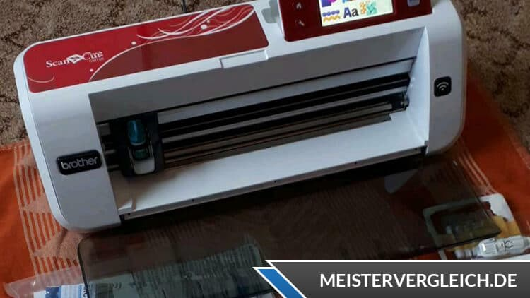 BROTHER Hobbyplotter Scan-N-Cut CM700 Lieferumfang
