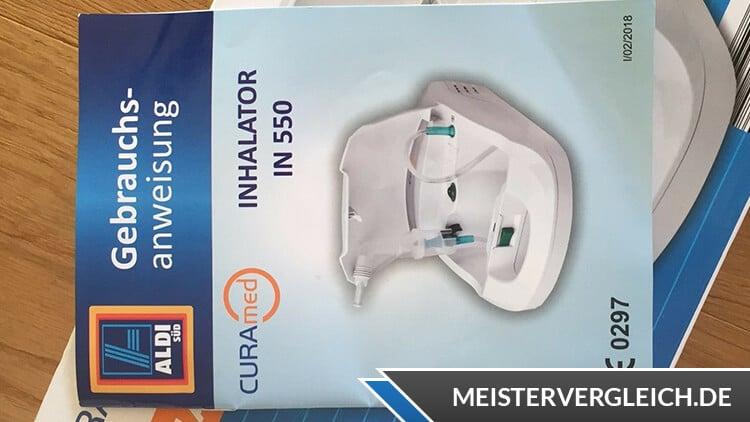 CURAmed Inhalator Bedienungsanleitung