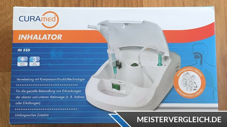 CURAmed Inhalator Verpackung