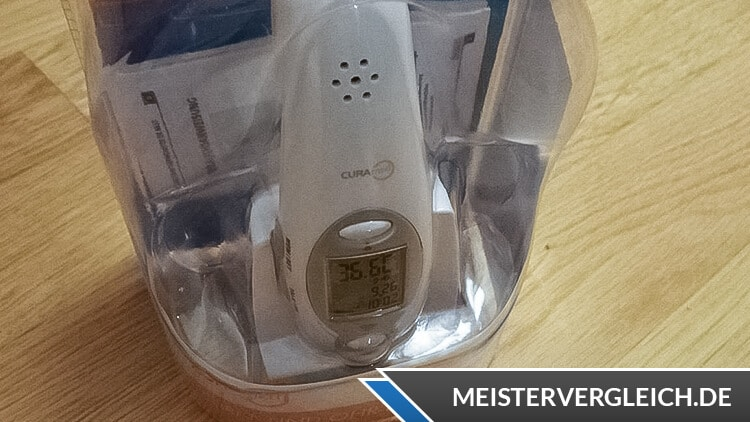 CURAmed kontaktloses Thermometer Unboxing
