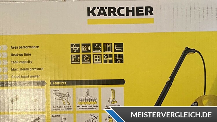 Kärcher Dampfreiniger KST 2 Verpackung