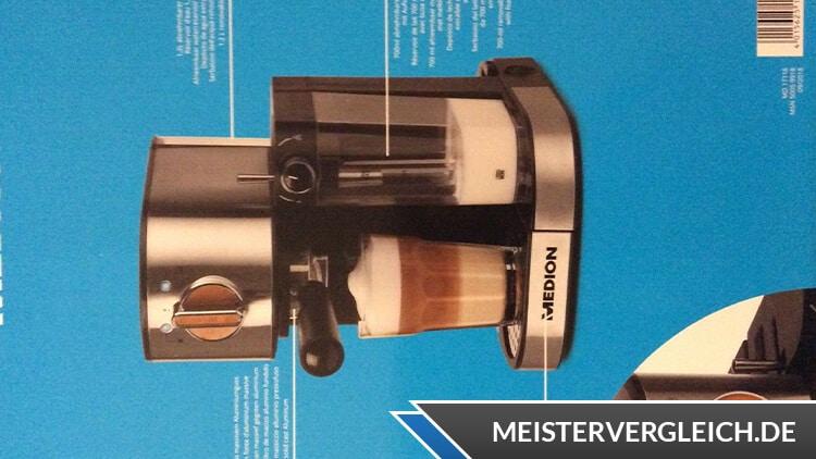 Medion MD 17116 Espressomaschine Funktionen