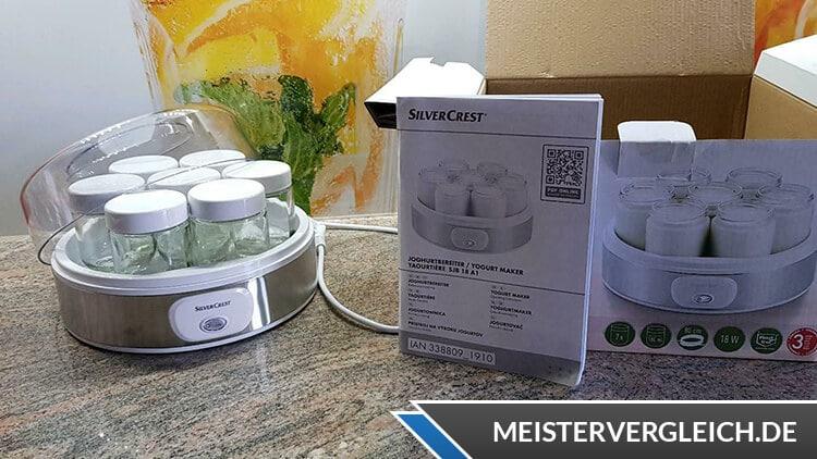 Silvercrest Joghurtbereiter mit Anleitung