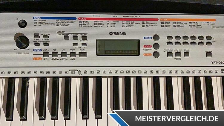 YAMAHA Keyboard YPT-260 61 Tasten