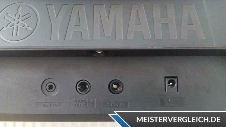 YAMAHA Keyboard YPT-260 Anschlüsse