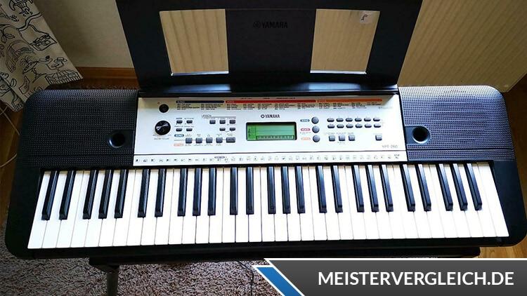 YAMAHA Keyboard YPT-260 Praxistest