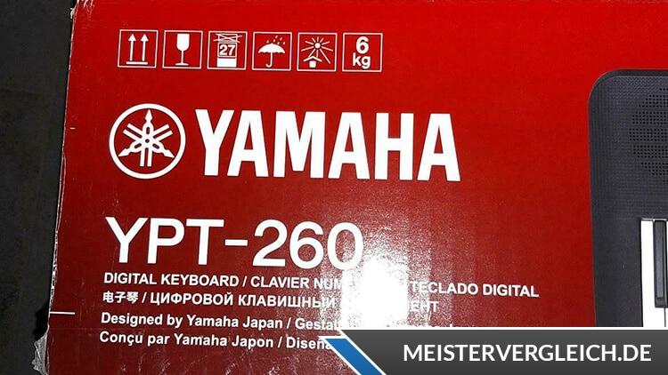 YAMAHA Keyboard YPT-260 Unboxing