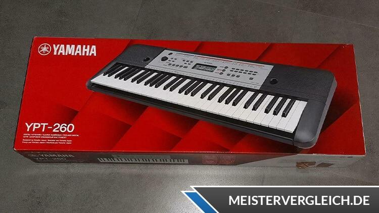 YAMAHA Keyboard YPT-260 Verpackung