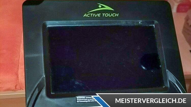 Active Touch Ergometer Display