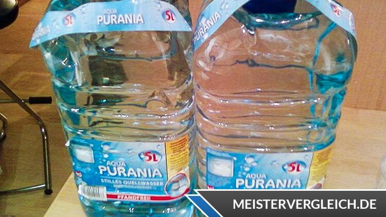 Aqua Purania Quellwasser