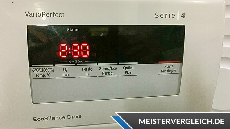 BOSCH Waschmaschine WAN28K40 Display