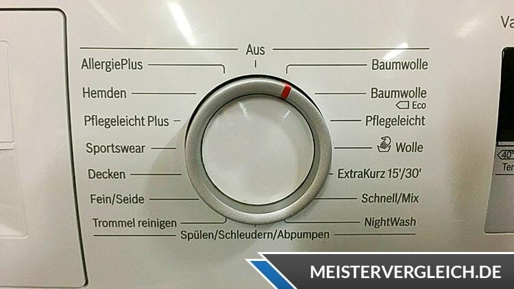 BOSCH Waschmaschine WAN28K40 Programme