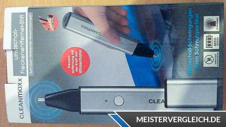 CLEANmaxx Ultraschall-Fleckenentferner-Stift Verpackung