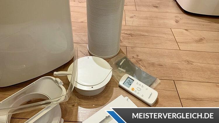 Comfee Klimagerät Mobile 7000 Lieferumfang