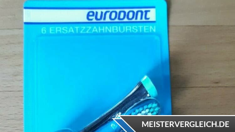 Eurodont Schallzahnbürste Aufsätze