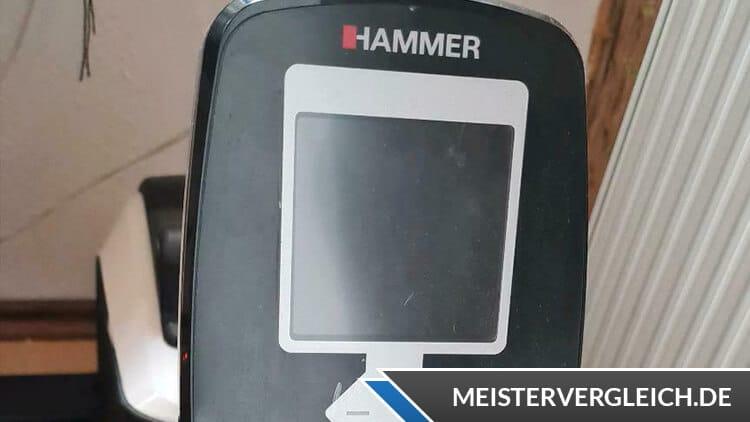 Hammer Rudergerät Cobra XTR Plus II Display